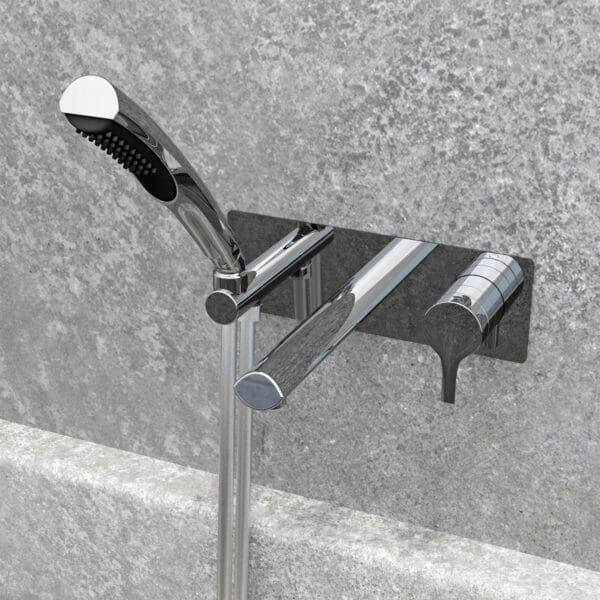 Robinet de bain NOB47TCP avec bain style pierre