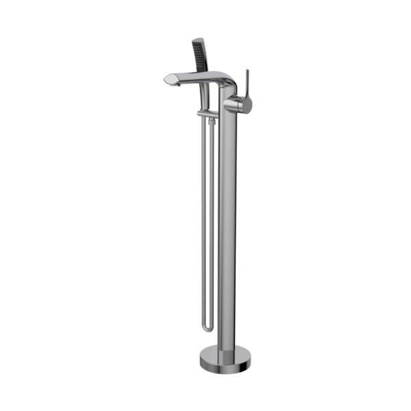 NOB45CP robinet de baignoire autoportant chrome poli - 45 degrés