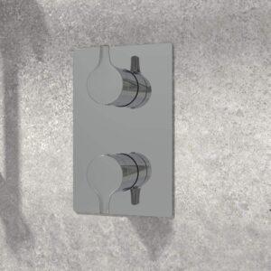 NOB98TS3TCP valve de robinet sur mur de pierre